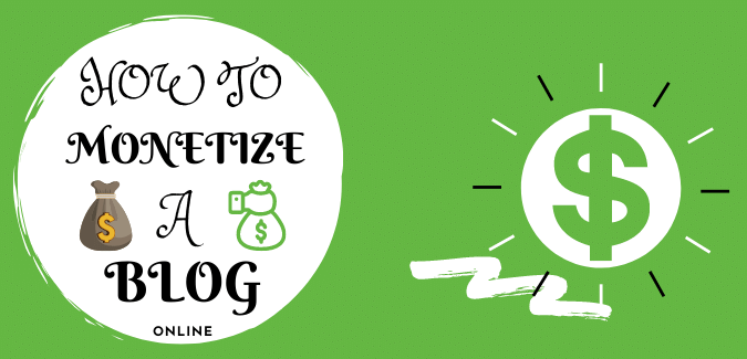 (Passive income) 50+ ways to monetize a blog/website and make money online.